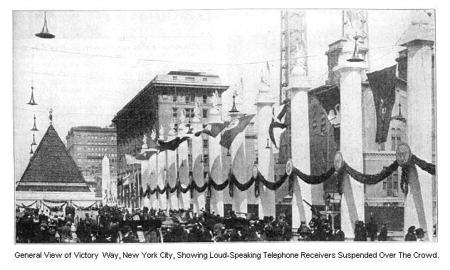 A Grand Central Terminállal átellenes oldalon található piramis. Forrás: earlyradiohistory.us