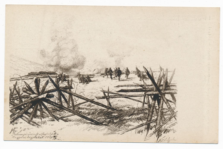 A miskolci háziezred hadifestője – Kövér Gyula az első világháborúban