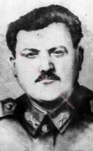 Antal Gyula rendőr törzsőrmester. Forrás: 1956-os Intézet Fotóadatbázis