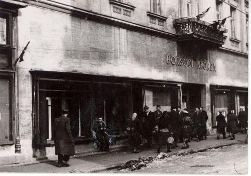 A Borsodi Nyomda épülete. Forrás: 1956-os Intézet Fotóadatbázis