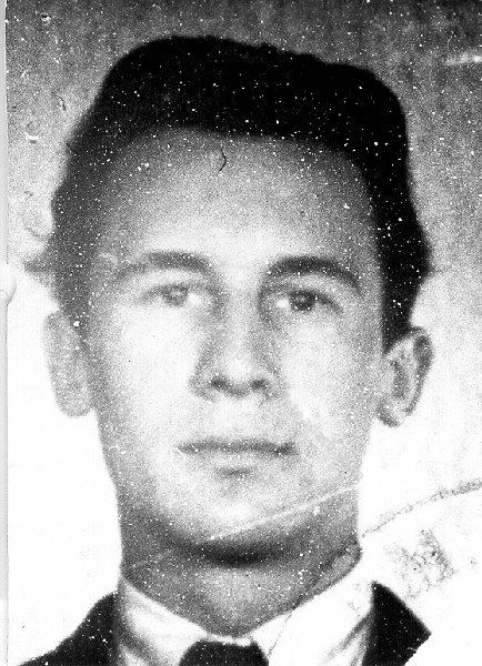 Nagy Attila képe személyi igazolványában. Forrás: 1956-os Intézet Fotóadatbázis