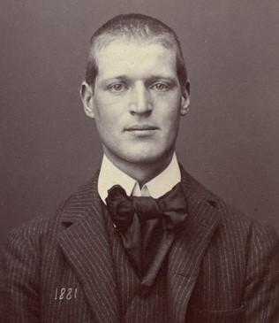 Archibald Reiss svájci kriminológus portréja. Forrás: le-correspondant.fr
