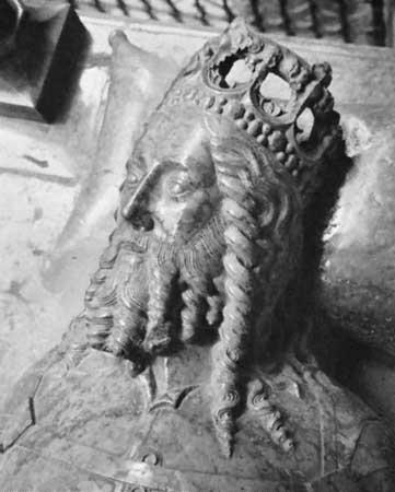 III. (Nagy) Kázmér lengyel király síremléke