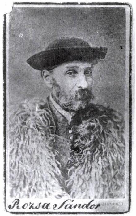 Rózsa Sándor a szamosújvári börtönben, kevéssel a halála előtt. (Szentesi 2006, 124.o.)