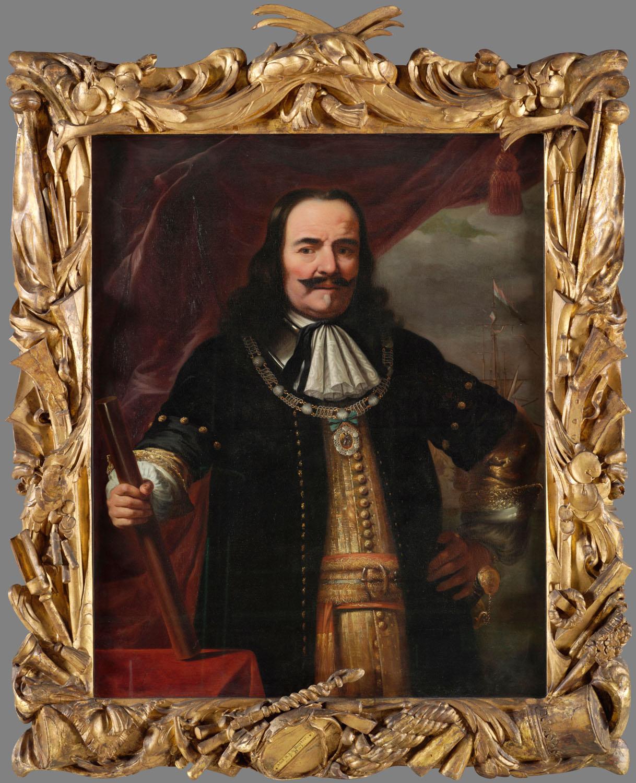 Ferdinand Bol: Michiel de Ruyter, 1667. Tengerészeti Múzeum, 1991.0210