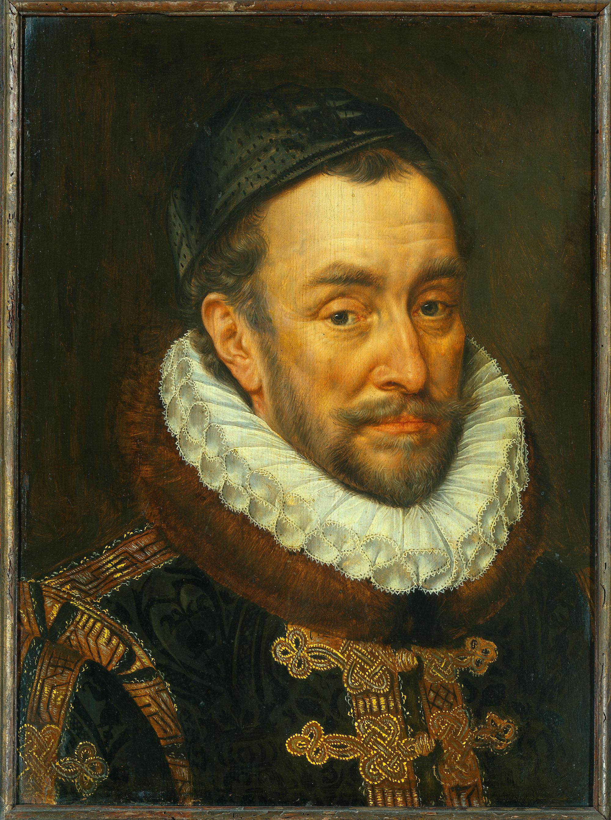 Adriaen Thomasz: Orániai Vilmos, 1579. Rijksmuseum, SK-A-3148