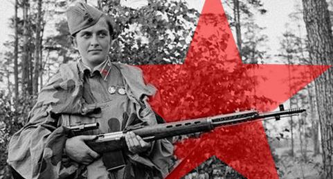 Ljudmila Pavlicsenko, a történelem legeredményesebb női mesterlövésze
