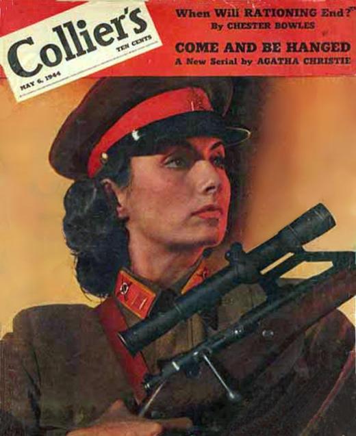 Egy amerikai magazin címlapján Forrás: warfiles.ru