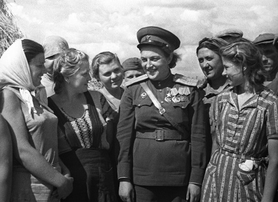 Igazi sztár volt Forrás: warfiles.ru