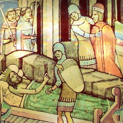 """A könyves király """"füles"""" halála – Tíz különös halál a középkori magyar történelemből II."""