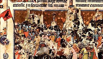 A magyarok bejövetele a Képes Krónikában