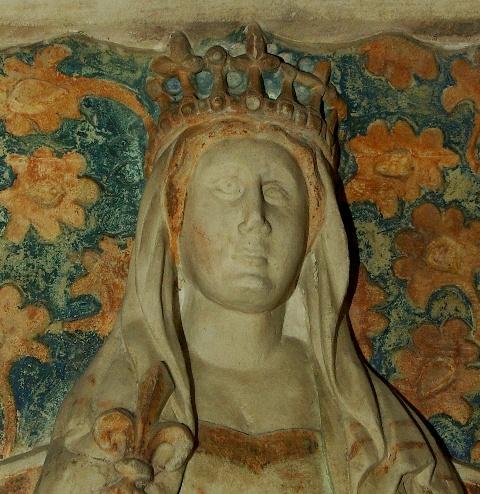 Durazzói Margit síremlékének részlete