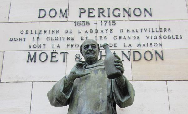 Dom Perignon: a pezsgő atyja?