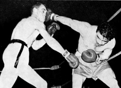 Az emlékezetes 1962-es meccs a dán Christensen ellen