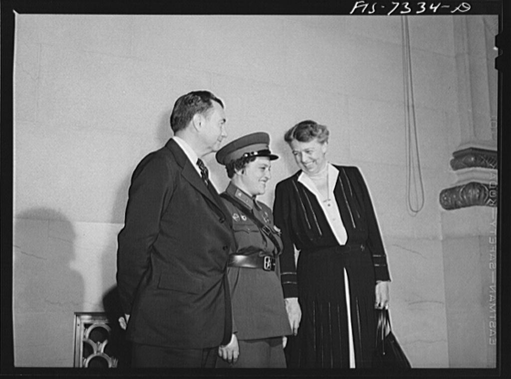 Összehaverkodott Roosevelt-mamival Forrás: Library of Congress
