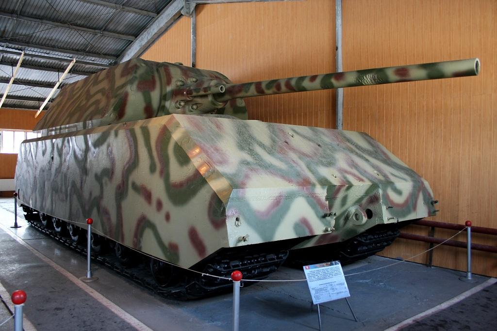 Az egyetlen megmaradt Maus a Kubinkai Harckocsi Múzeumban található. (Forrás)