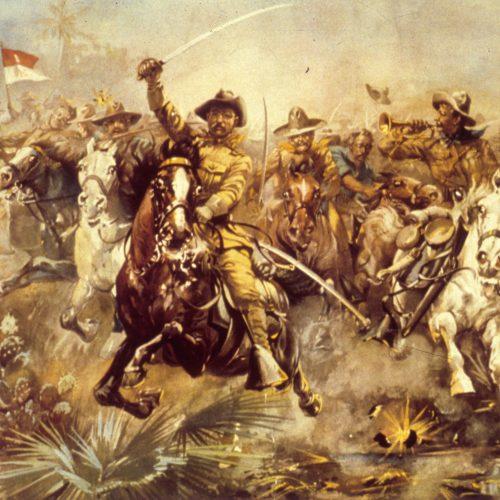 A Monroe-elv a gyakorlatban: Roosevelt's Rough Riders