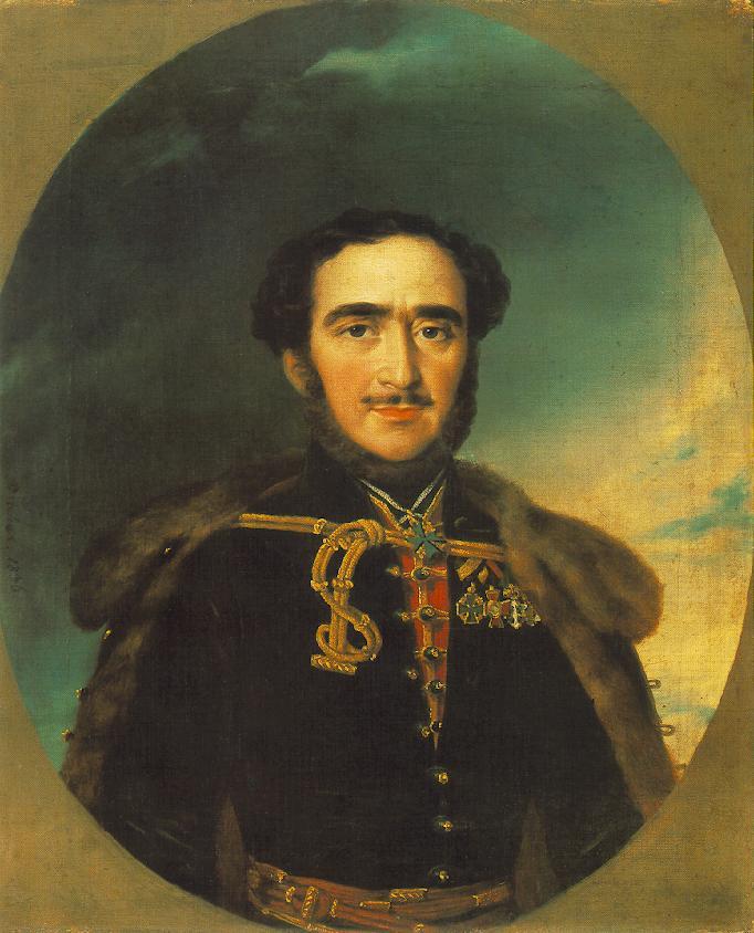 Barabás Miklós: Széchenyi István (vázlat), 1836. Olaj, vászon. Magyar Tudományos Akadémia