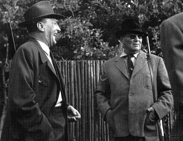 Kádár és Tito 1963-ban, jó hangulatban