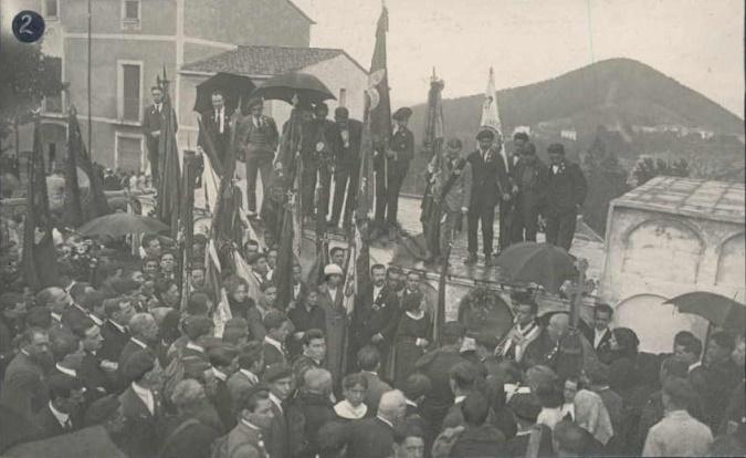 Jaimista nagygyűlés Katalóniában, 1919 (Wikipedia)