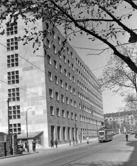 """A """"Fehér ház"""" 1949-ben FORTEPAN/FORTEPAN"""