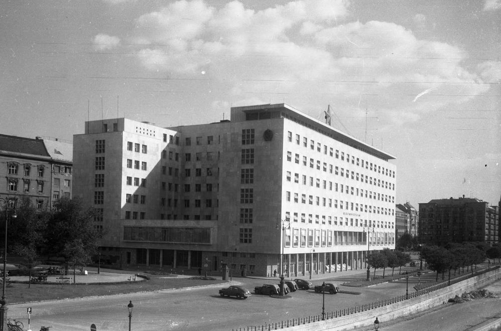 """A """"Fehér ház"""" 1950-ben FORTEPAN/FORTEPAN"""