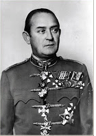Faragho Gábor altábornagy (1890- 1953), a magyar tárgyalódelegáció vezetője