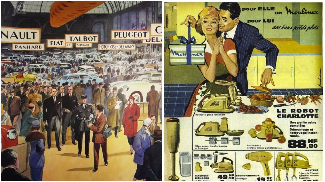 Franciaország igazi fogyasztói társadalommá érik Az eredeti fotók forrása: Le Journal de Saône et Loire, http://consenevolution.canalblog.com/
