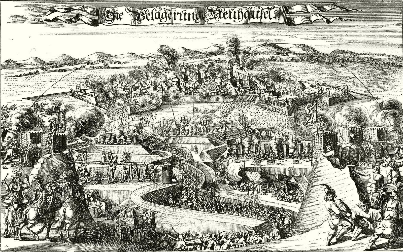 Érsekújvár 1663-as török ostroma.