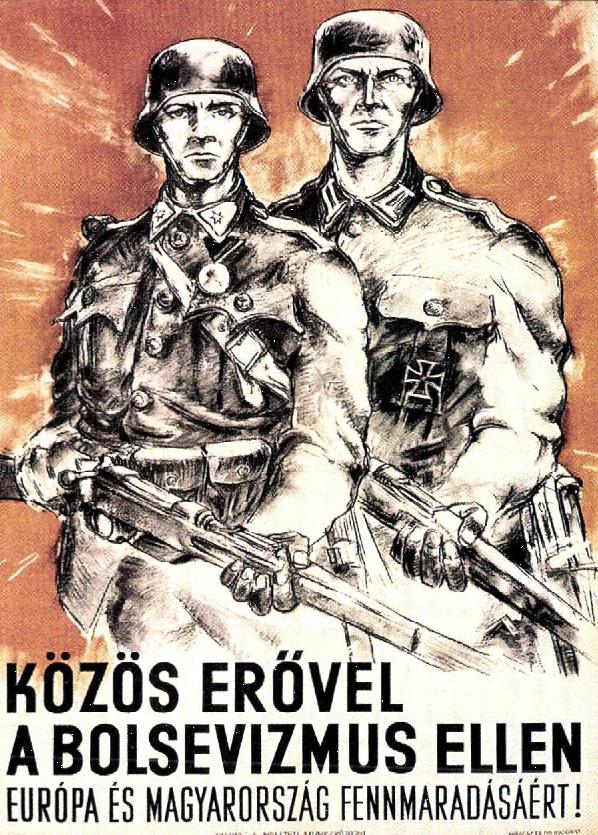 Propagandaplakát, 1944 nyara