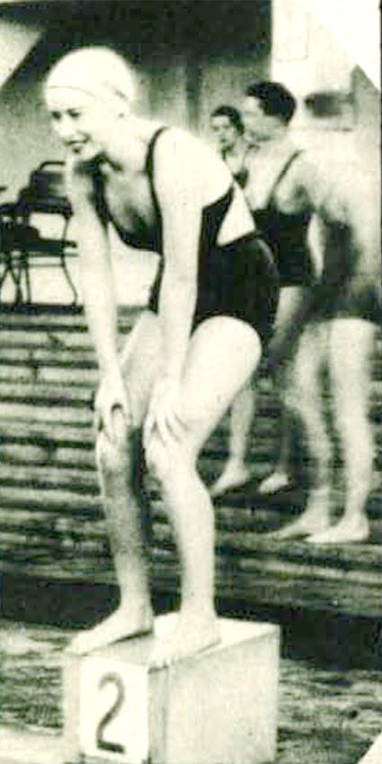 A fejesugró bajnok. (Színházi Élet 1934/17.sz. 53.)