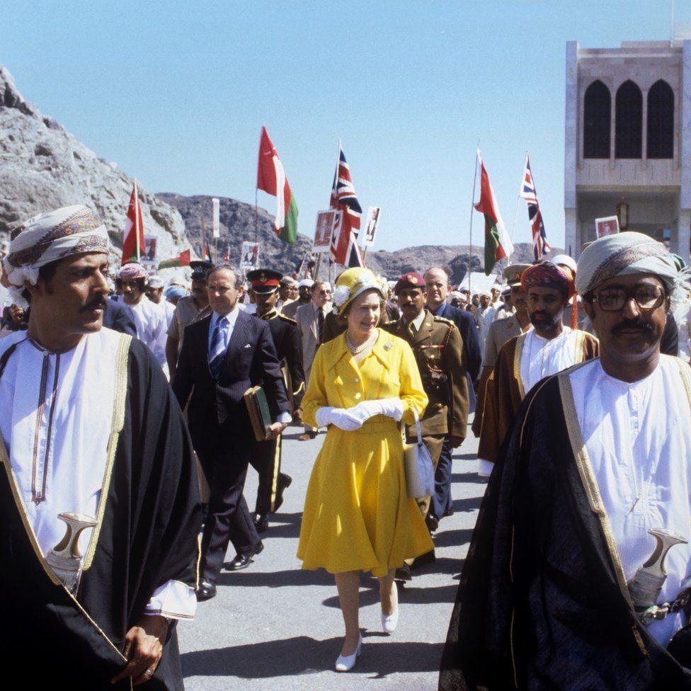 1979-ben egy omani sétán.
