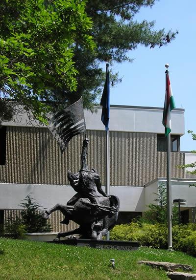 Kováts ezredes szobra Washingtonban