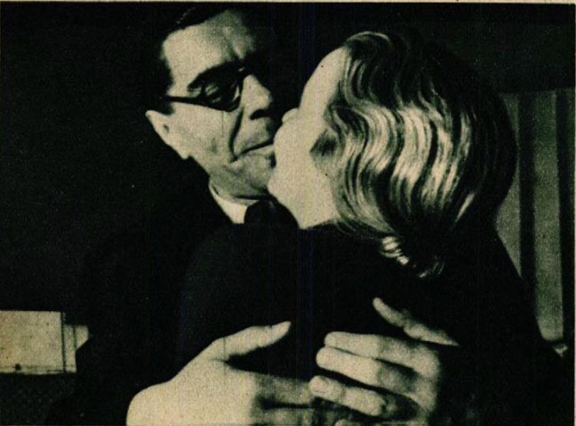 Páger fényképe feleségéről és kollégájáról, Pünkösti Andorról az egyik színházi próbán (Színházi Élet, 1936 39. sz.)