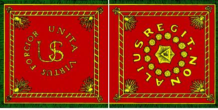 A Pulaski-légió zászlója