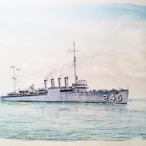 """""""Békeidők"""" háborús áldozatai – a USS Reuben James megtorpedózása"""