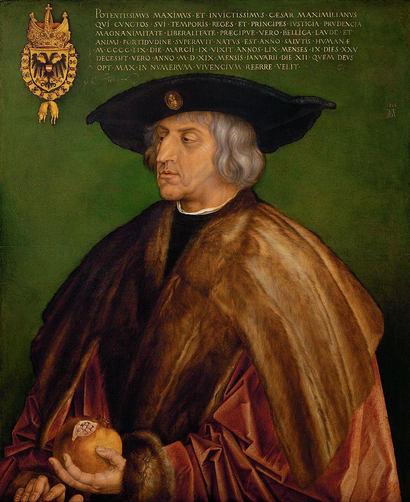 Albrecht Dürer: Miksa császár portrája