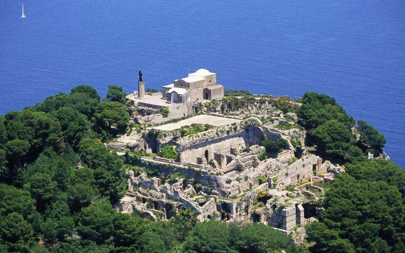 Tiberius császár, Capri vén bakkecskéje