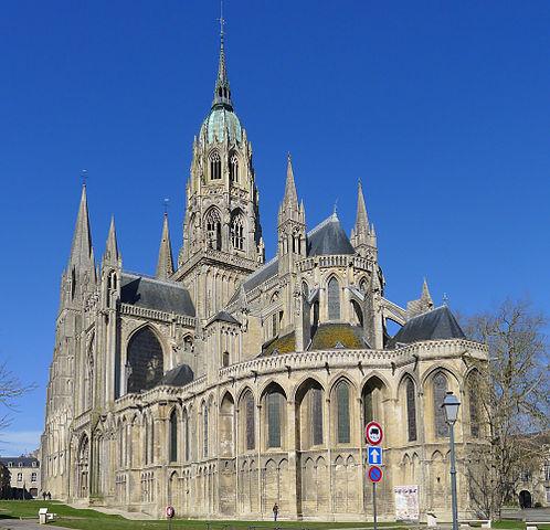 A bayeuxi katedrális manapság (Forrás: Wikipedia)