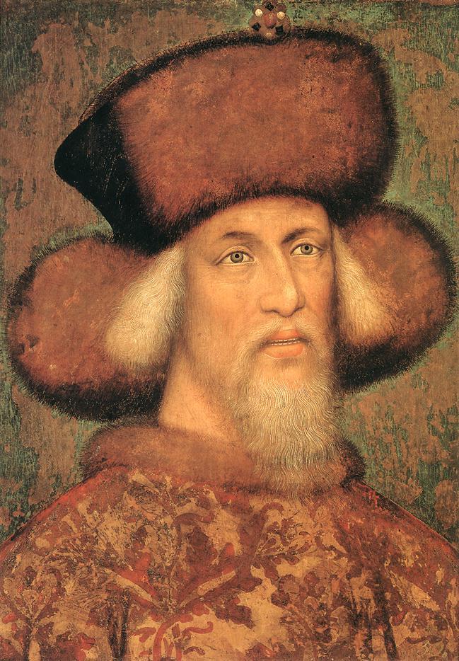 Zsigmond király portréja (Wikipedia)