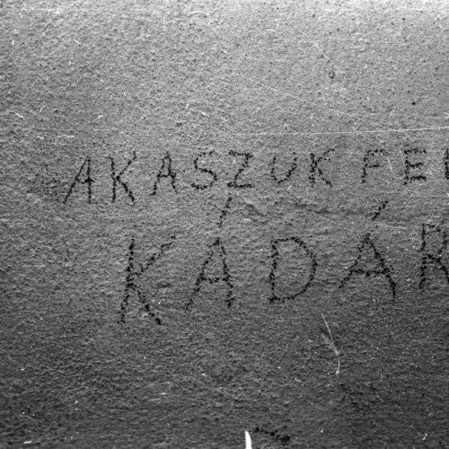 """""""Nem tudnánk az ügyészség fejébe észt verni?"""" – Szemelvények az MSZMP 1957-es küldöttgyűléséből"""