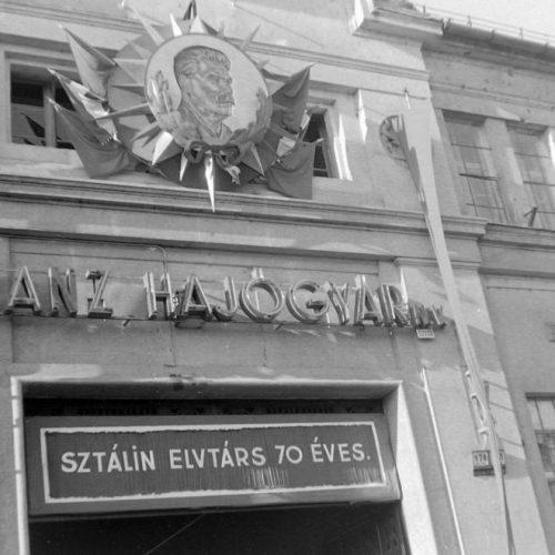 Kommunista munkásigazgató a Ganz Hajógyár élén