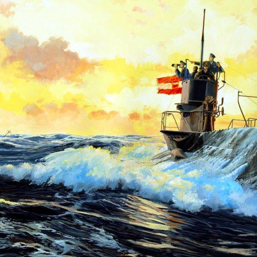 """""""Felkelő nap"""" az Égei-tengeren; japán rombolók császári és királyi tengeralattjárók ellen"""