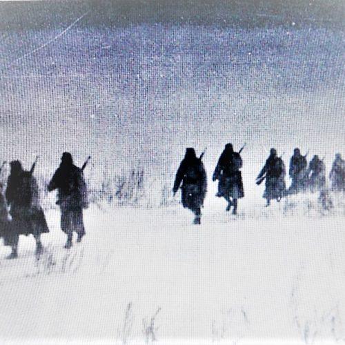 """""""Nagy szökés"""" magyar módra; Horváth Sándor hadnagy Arany Vitézségi Érme"""