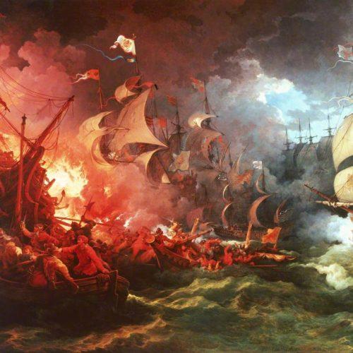 A spanyol armada pusztulása (1588)