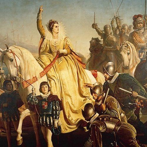 """""""…nem akarok úgy élni, hogy nem bízom hű és szerető népemben."""" – I. Erzsébet beszéde Tilburyben"""