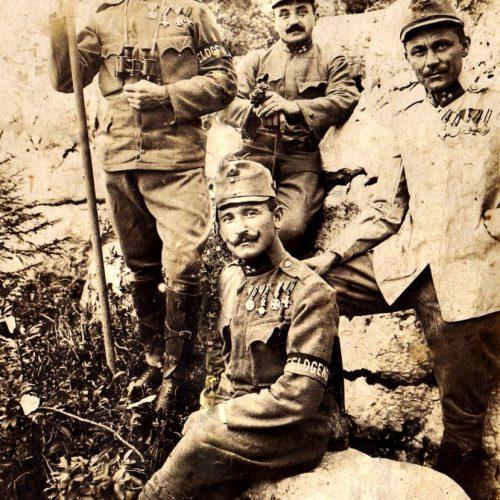 """""""Az ellenség előtt tanúsított bátor és vitéz magatartásáért""""; Egy csendőr az 1916-os lucki áttörésnél"""