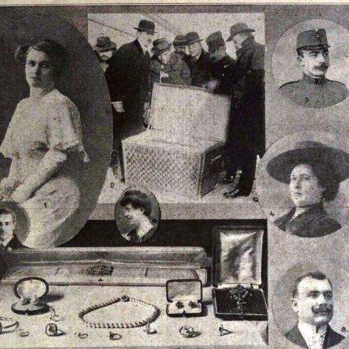 """""""Női holttest az utazókosárban"""" –  Mágnás Elza-gyilkosság a korabeli sajtóban"""