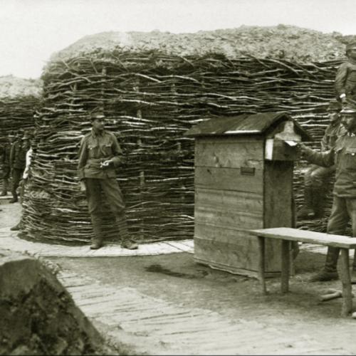 Az első világháború WiFije, a Tábori Posta