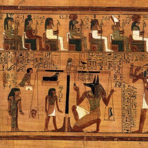 Az ókori egyiptomi Halottak könyvének 125. mondása: A negatív konfesszió
